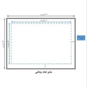 سرویس دونفره ملحفه کشدوز و روبالشی عرض 160 کد J22-تصویر 3