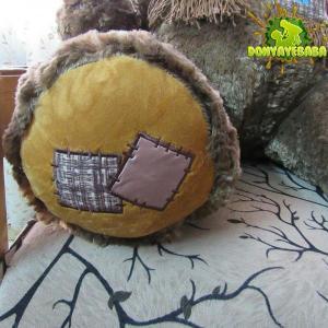 شاسخین مدل نشسته شال گردنی قهوه ای-تصویر 4