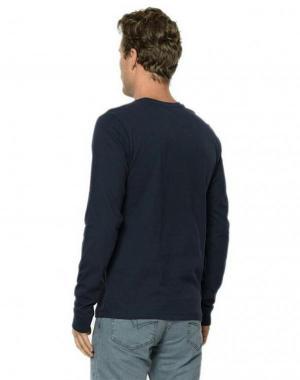 بلوز مردانه مدل WOOD رنگ سورمه ای برند لی کوپر-تصویر 2