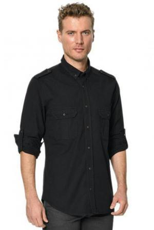 پیراهن مردانه مدل TEMA رنگ مشکی برند لی کوپر