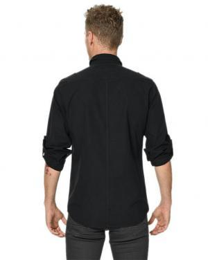 پیراهن مردانه مدل TEMA رنگ مشکی برند لی کوپر-تصویر 2