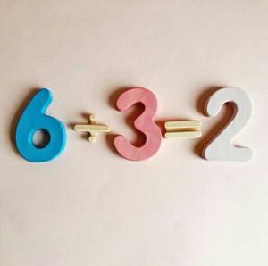 اعداد چوبی