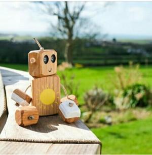 عروسک چوبی کدR110-تصویر 2
