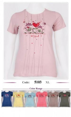 تی شرت زنانه دوگل