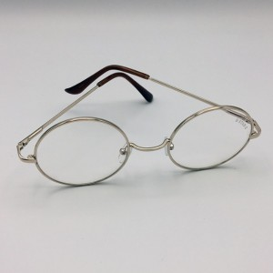 عینک طبی ضد اشعه طلایی-تصویر 3