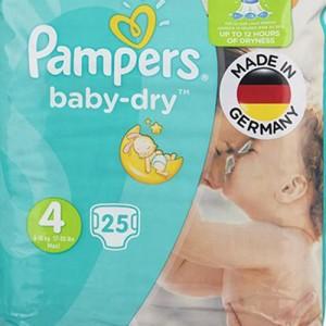 پوشک پمپرز مدل New Baby Dry سایز 4 بسته 25 × 2 عددی-تصویر 2