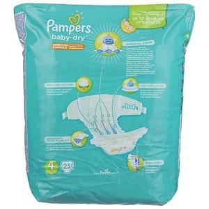 پوشک پمپرز مدل New Baby Dry سایز 4 بسته 25 × 2 عددی-تصویر 3