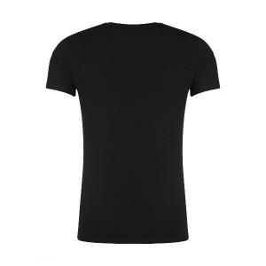 تیشرت آستین کوتاه مردانه مدل nek1 رنگ مشکی-تصویر 3