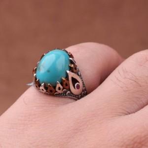 انگشتر فیروزه احیا شده-تصویر 2