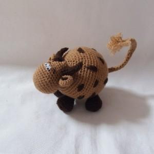 عروسک گاو تپلی