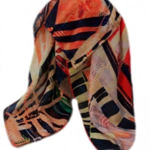 روسری پائیزی دور دست دوز-تصویر 2