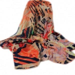 روسری پائیزی دور دست دوز