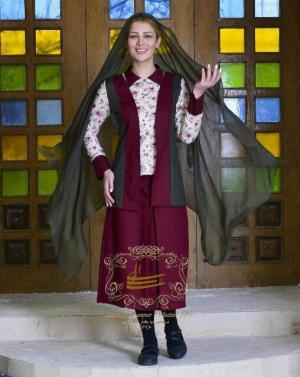 مانتو و دامن مه گل مدل ایرانی تابستان ۹۶-تصویر 4