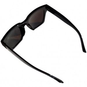 عینک آفتابی Ocean Sharp Black + کیف محافظ-تصویر 3