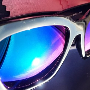 عینک آفتابی Ocean Sharp Black + کیف محافظ-تصویر 4