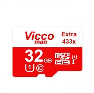 کارت حافظه((مموری)) 32GB micro SDHD ویکومن کلاس 10