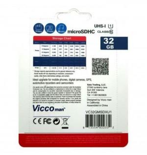 کارت حافظه((مموری)) 32GB micro SDHD ویکومن کلاس 10-تصویر 3