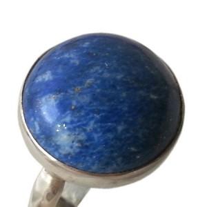 انگشتر نقره مدل سنگ لاجورد کد 6920-تصویر 5