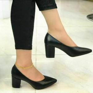 کفش راحتی پاشنه ۵ سانت