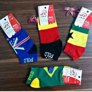 جوراب پرچمی پک ۴تایی-تصویر 3