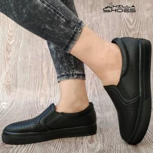 کفش ونس سوزنی لژدار مشکی-تصویر 3