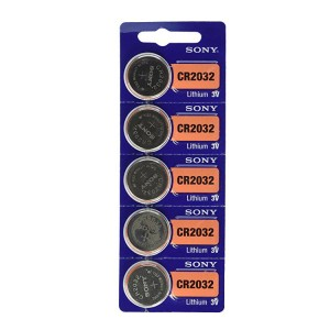 باتری سکه ای SONY 2032 اورجینال بسته ۵ تایی