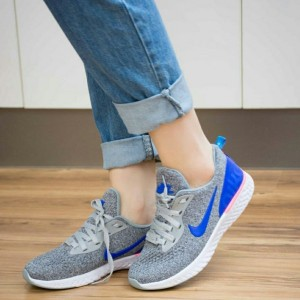کفش کتانی بافتی مدل نایک زیره eva-تصویر 4