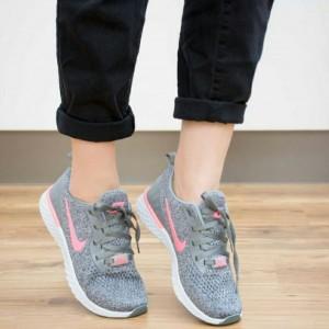 کفش کتانی بافتی مدل نایک زیره eva-تصویر 3