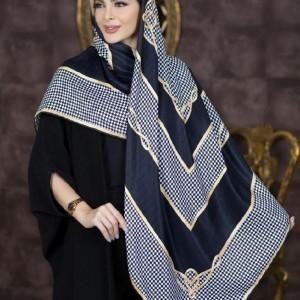 روسری نخی پاییزه طرحدار ۲