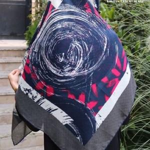 روسری نیلا رنگبندی ۲-تصویر 2