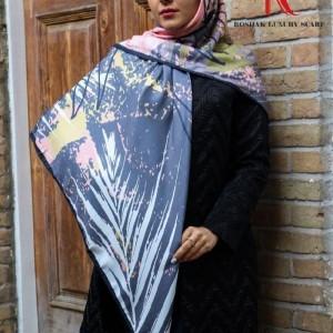 روسری نخی پاییزه طرحدار