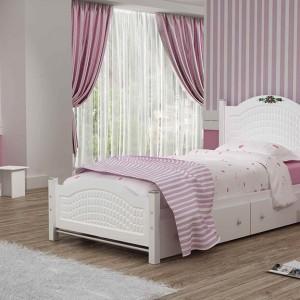 تخت خواب یک نفره مدل روما