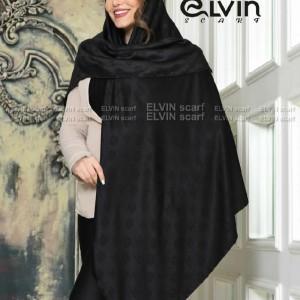 روسری نخ طرح شنل با گل-تصویر 4
