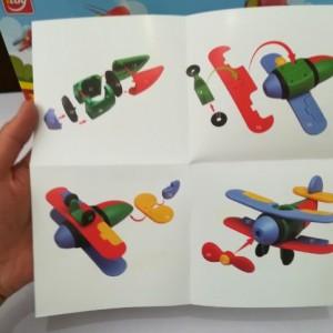ساختنی هواپیما دوبی ( پازل سه بعدی )-تصویر 2