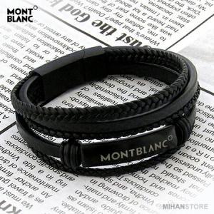 دستبند چرم طرح Montblanc-تصویر 2