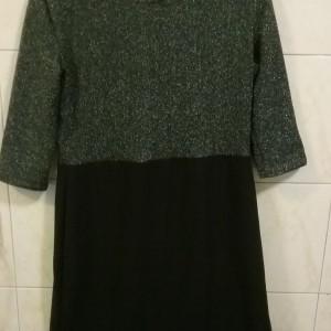 لباس مجلسی زنانه کوتاه جنس پارچه لمه-تصویر 3