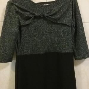 لباس مجلسی زنانه کوتاه جنس پارچه لمه-تصویر 2