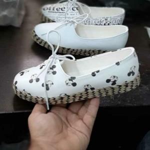 کفش تخت مدل میکی موس دور کنفی Ma-تصویر 2