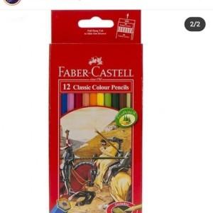 مداد رنگی فبر کاستل ۱۲ رنگ