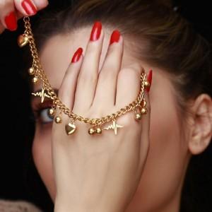 دستبند طرح طلا-تصویر 4
