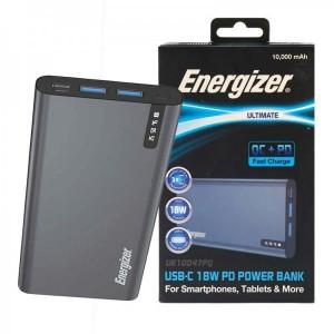 پاوربانک فست شارژ انرجایزر ظرفیت 10000 مدل Energizer UE10047PQ