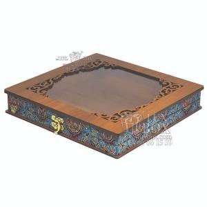جعبه آجیل خشکبار جعبه پذیرایی کد LBL055 مدل ترمه-تصویر 4