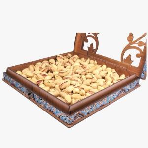 جعبه آجیل خشکبار جعبه پذیرایی جعبه چوبی کد LBL054-تصویر 5