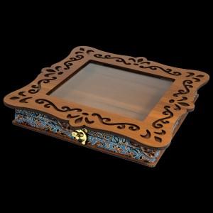 جعبه آجیل خشکبار جعبه پذیرایی جعبه چوبی کد LBL060-تصویر 5