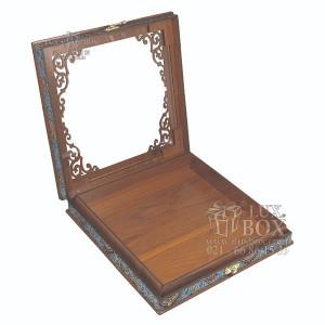 جعبه آجیل خشکبار جعبه پذیرایی کد LBL055 مدل ترمه-تصویر 3