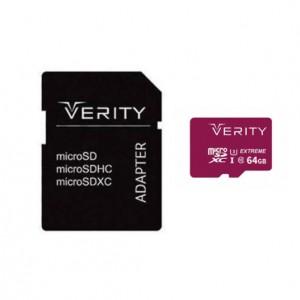 کارت حافظه وریتی 64G سرعت 80 U3