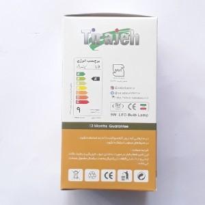 لامپ ۹ وات ال ای دی سفید تیراژه-تصویر 2