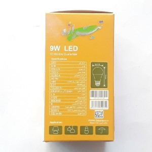 لامپ ۹ وات ال ای دی سفید تیراژه-تصویر 3