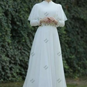 مانتو پیراهن عروس