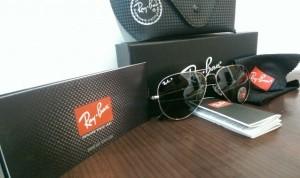 عینک آفتابی ری بن با شیشه یویی400و آنتی رفلکس-تصویر 4
